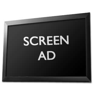 Screen Advertising in Morgan Hill
