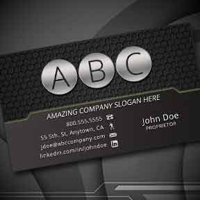 Modern dark electric business card abd promotions modern dark electric business card colourmoves
