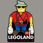 Legoland Souvenir Magnet