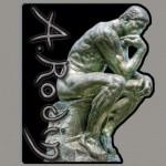 Rodin Sculpture Garden Souvenir Magnet