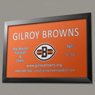 Gilroy Browns - Pop Warner Football and Cheer
